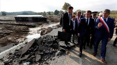 El poder desgasta físicamente a Macron