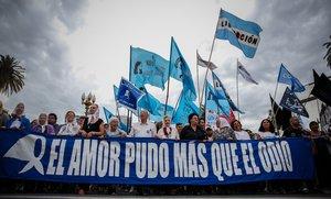 Tras la victoria electoral de Fernández en las elecciones generales del 27 de octubre, la organización consideró que el enemigo no estará en la Casa Rosada.