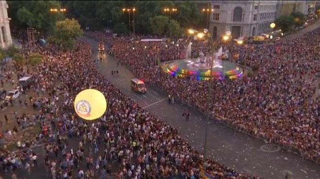 """Madrid grita """"no"""" a la homofobia"""