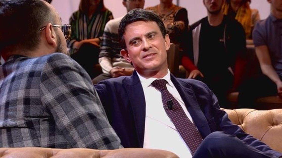 Risto Mejide pone en aprietos a Manuel Valls con las líneas de metro de Barcelona
