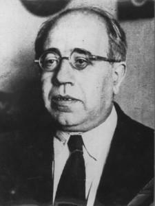 Manuel Azaña en el año 1991.