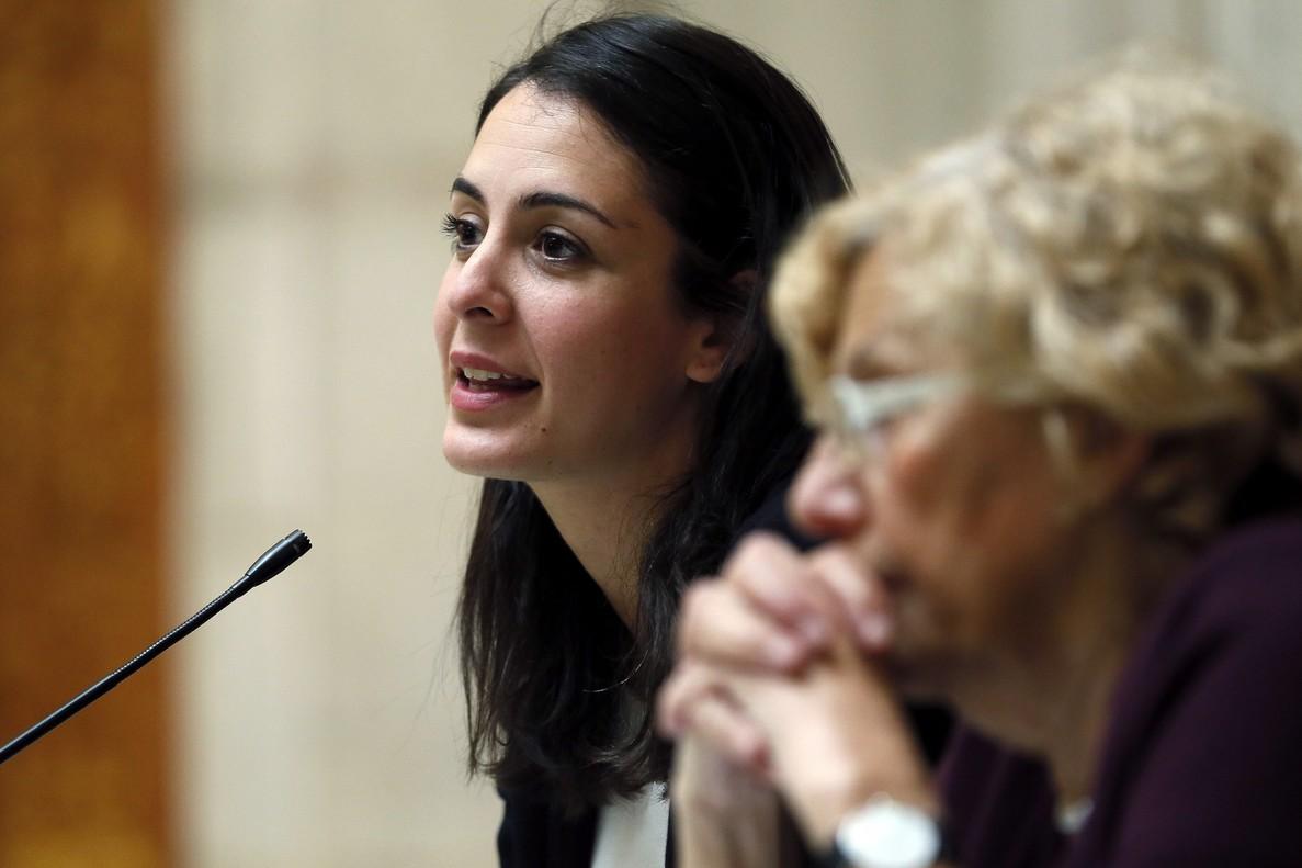 La portavoz del Gobierno de Manuela Carmena en Madrid, Rita Maestre.