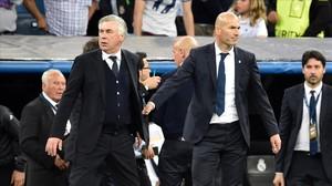 """Ancelotti: """"Els dos gols de Cristiano eren en fora de joc"""""""