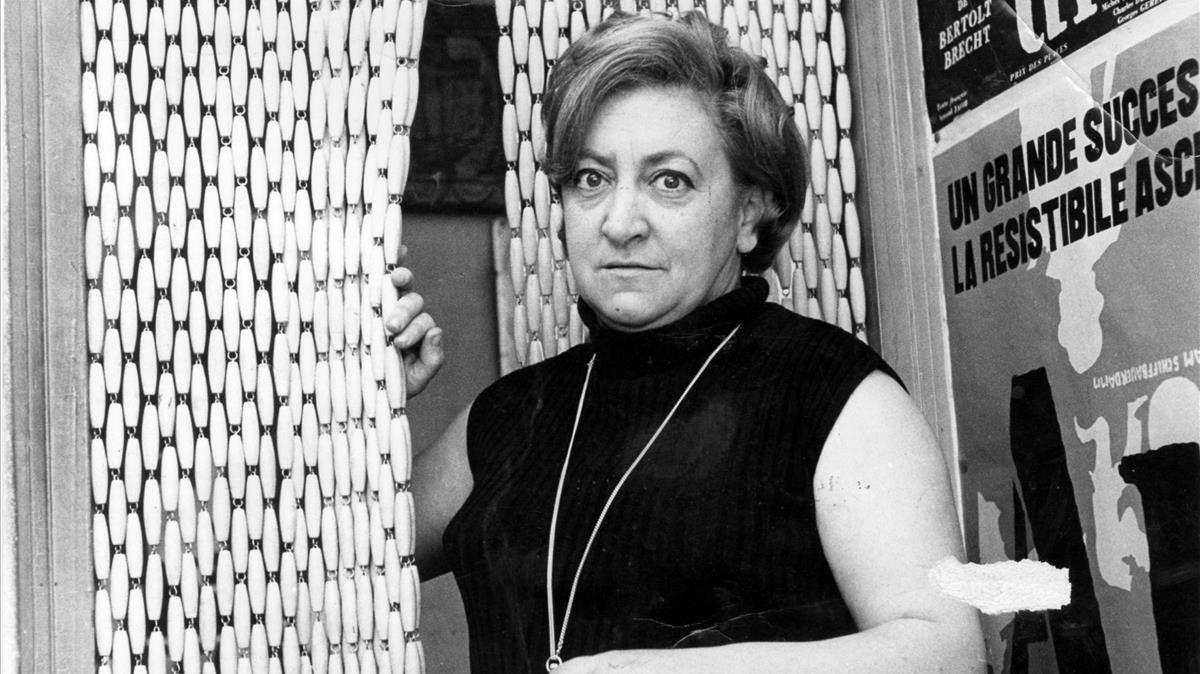 Maria Aurèlia Capmany, en una imagen de 1976.