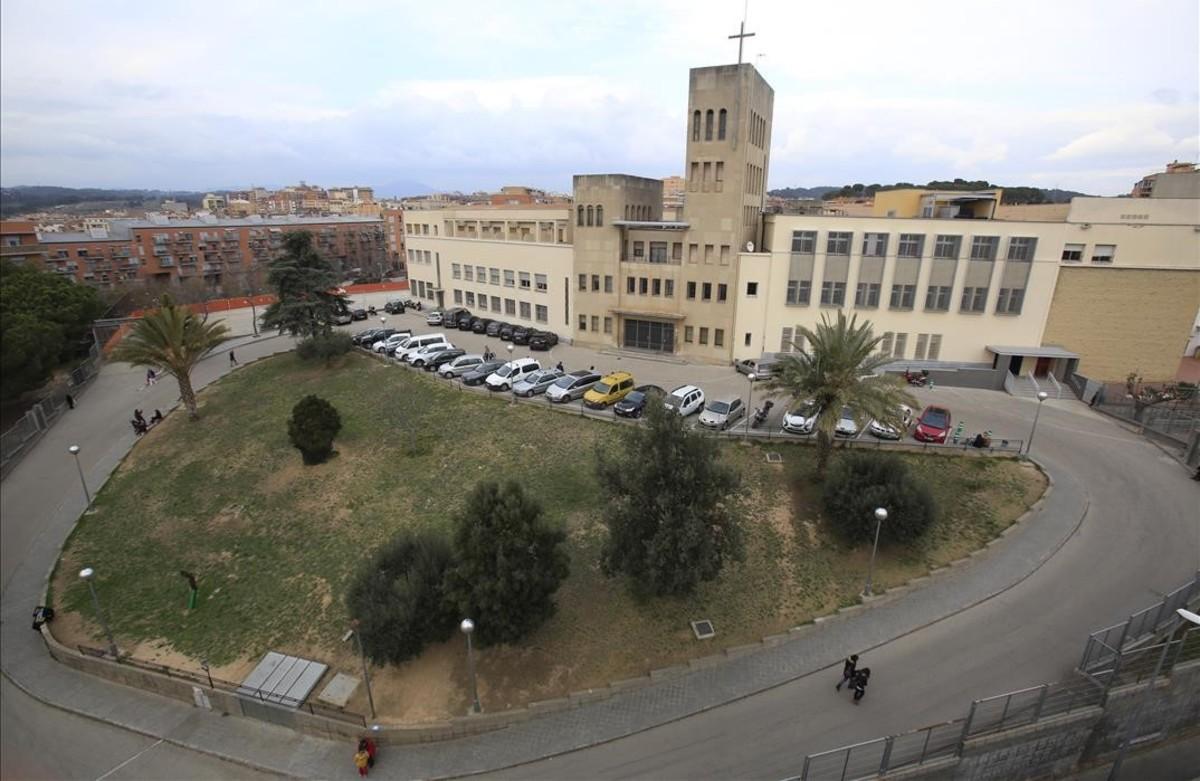 Escuela de los Maristas de Rubí, de donde ha sido apartado un hermano denunciado por abusos sexuales.