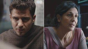 Maxi Iglesias y Elvira Mínguez, en 'Desaparecidos. La serie'.