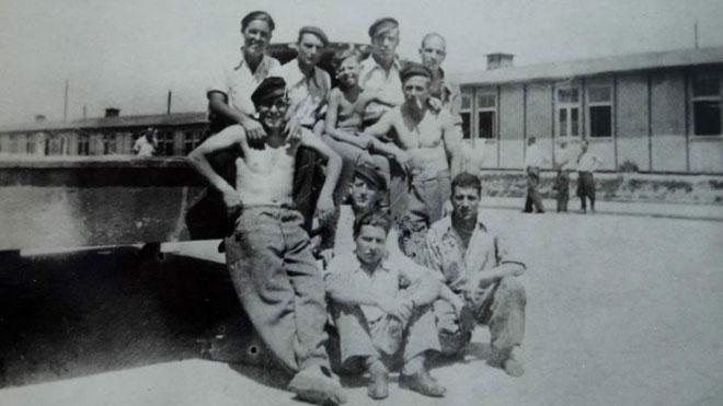 Memoria histórica: Los 4.427 españoles muertos en campos nazis.En la foto, presos --algunos de ellos españoles-- en el campo de Mathausen.