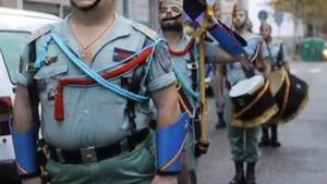 Un desfile de la Legión.