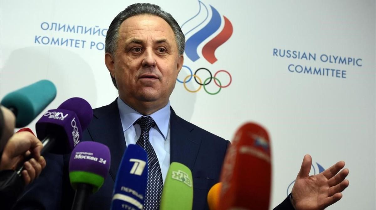 El ministro de Deportes ruso, Vitali Mutkó.