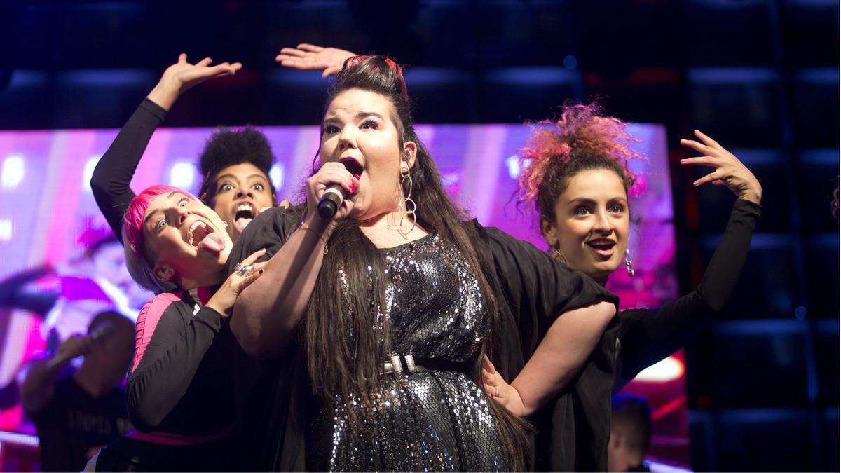 Netta Barzilai, representante de Israel y ganadora del Festival de Eurovisión 2018.
