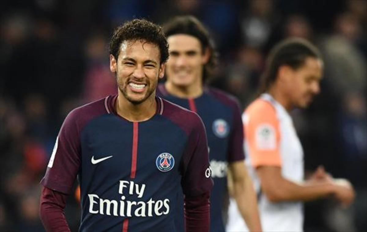 Neymar en el PSG