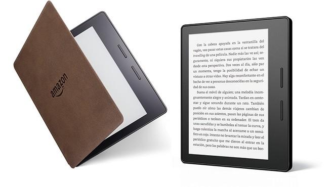 Así es el nuevo Kindle Oasis, el último libro electrónico de Amazon