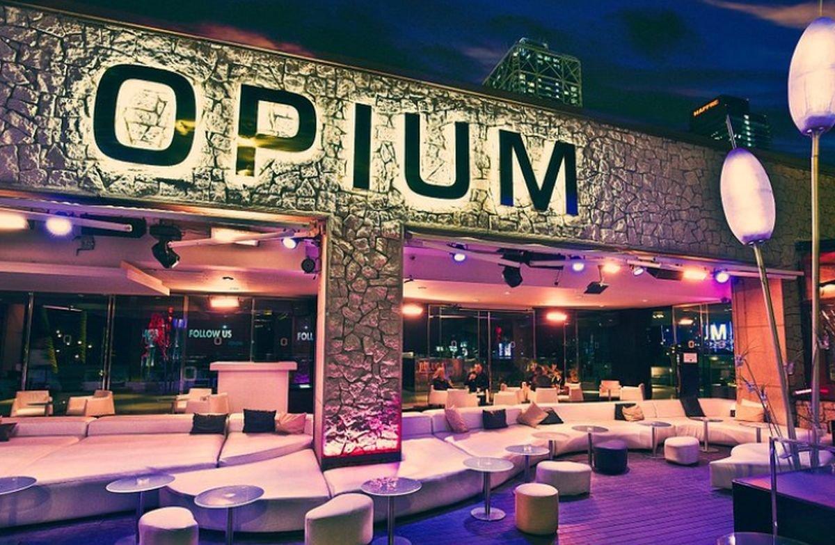 Opium Barcelona, en el Port Olímpic.