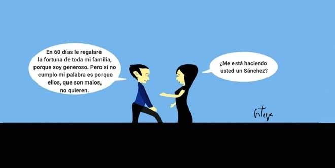 El humor gráfico de Juan Carlos Ortega del 19 de Septiembre del 2018