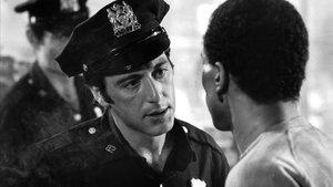 Al Pacino, en una escena de la película 'Serpico'