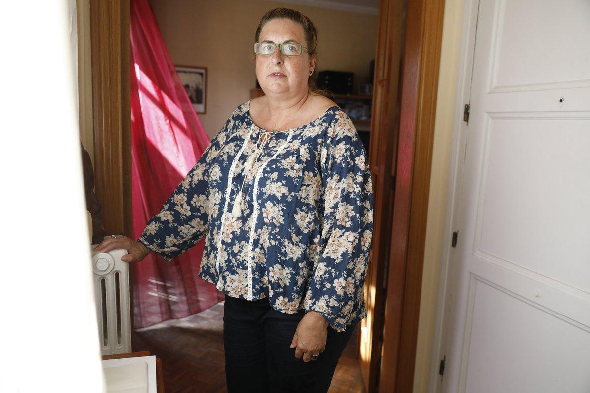 Pilar Fonts, desempleada desde el 2017.