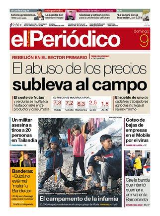 Prensa de hoy: Las portadas de los periódicos del domingo 9 de febrero del 2020