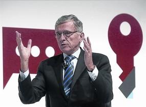 El presidente de la FCC, Tom Wheeler, ayer en el congreso.