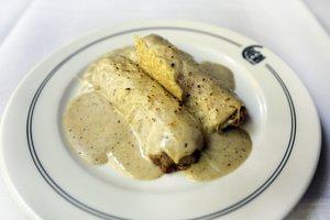 Jordi Olivet, del restaurante Chéri, elige los canelones de Sant Esteve como la receta de su vida.