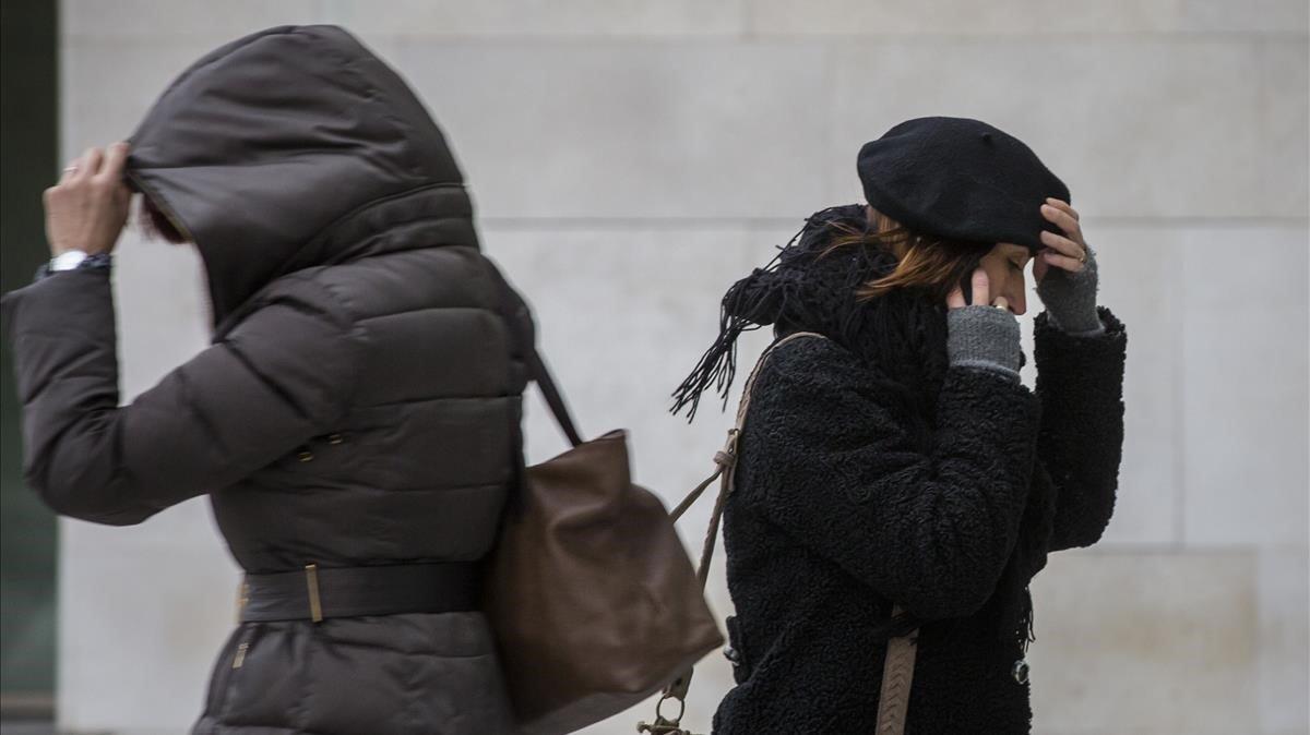 L'onada de fred farà baixar les temperatures fins a 12 graus en algunes zones d'Espanya