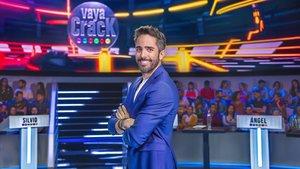 Roberto Leal, presentador del concurso de TVE-1 'Vaya crack'.