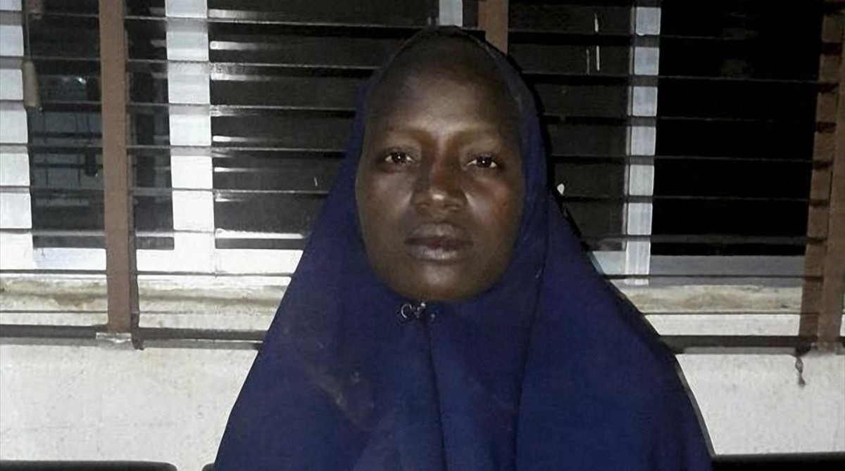 Serah Luka en una imagen de archivo facilitada por el Ejército nigeriano el pasado mes de mayo.