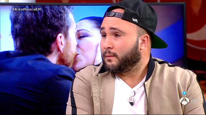 Kiko Rivera fraternalmente recibido por Pablo Motos (A-3 TV).