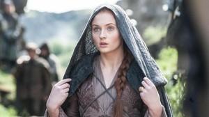 Sophie Turner, en su papel de Sansa en 'Juego de Tronos'