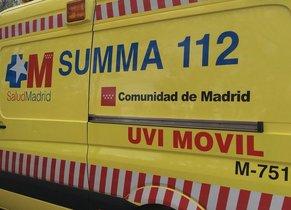 SUMMA 112 de la Comunidad de Madrid.