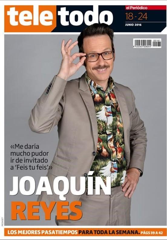 Portada del suplemento 'Teletodo' protagonizada por el humorista Joaquín Reyes.