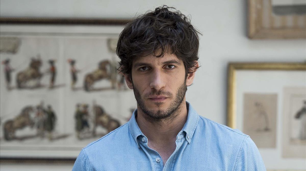 El actor Quim Gutiérrez, protagonista de la serie de Tele 5 'El accidente'.