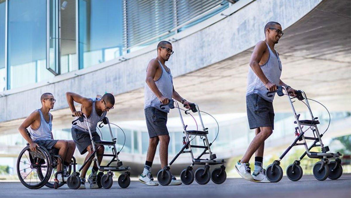David, uno de los participantes de este nuevo estudio que ha recuperado parte de su movilidad