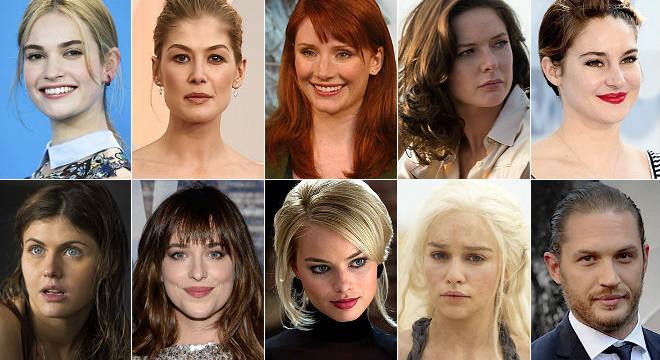 Las mujeres arrasan entre las 'celebrities' de cine más buscadas el 2015