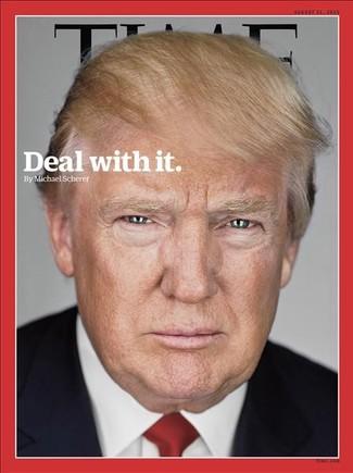 Trump, Persona del Año para 'Time'.