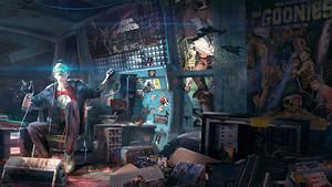 Una imagen promocional de 'Ready player one', de Steven Spielberg