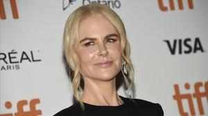 La actriz Nicole Kidman en el Festival de Cine de Toronto, el pasado martes 11 de septiembre.