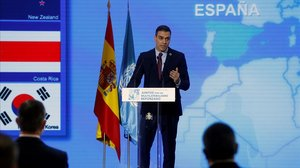 Sánchez, en l'era post-Trump: «És el moment del renaixement del multilateralisme»