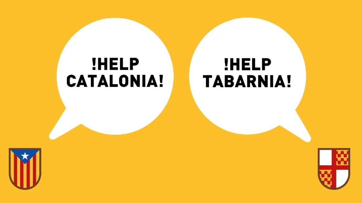 Fotograma del vídeo oficial de Tabarnia.