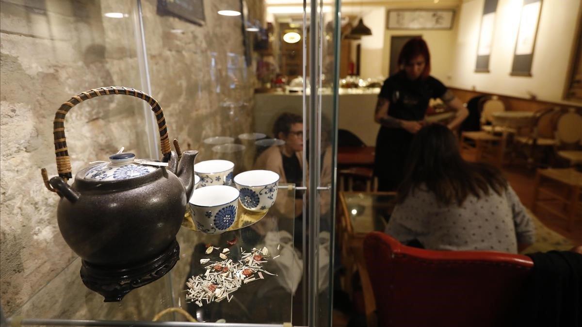 En Caj Chai podrás disfrutar de una gran variedad de tés orientales, entre ellos de Nepal y Vietnam.