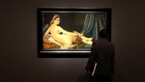 La gran odalisca, de Ingres, en el Museo del Prado.
