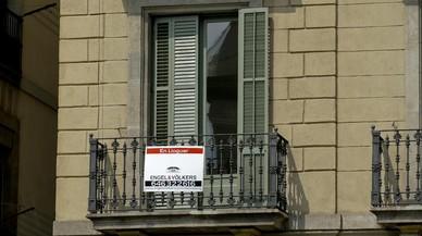 El alquiler se consolida en Barcelona y sigue al alza en el área metropolitana