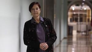 La rectora de la UAB, Margarita Arboix, en el rectorado de la institución.