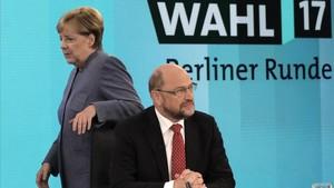 Rebel·lió de les bases socialdemòcrates contra el pacte amb Merkel