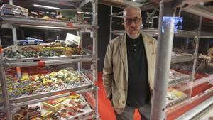 Francesc Torres, en su exposición en el Macba.