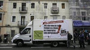La FAVB proposa a Colau la creació d'una oficina contra l'assetjament immobiliari