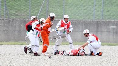 Brutal accidente a 356 km/h del probador de Ducati en Mugello