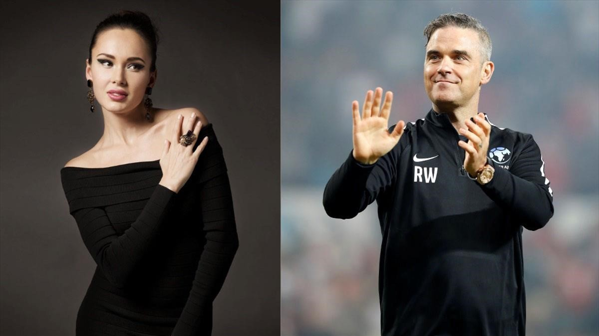 Robbie williams y aida garifullina voces del mundial for Espectaculo de lujo para ceremonia inaugural del mundial