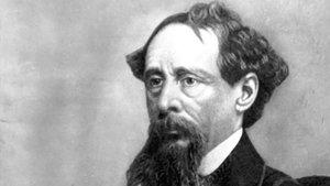 El escritorbritánico Charles Dickens.