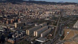 El 70% de les vivendes afectades per apagades a la Mina tenia la llum 'punxada'