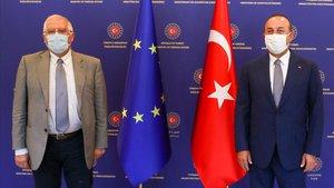 La visita de Borrell evidencia les tenses relacions entre la UE i Turquia